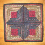 Log Cabin Square by Mary Henck